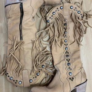 100% Authentic Old Gringo Cowboy Boots Size 9